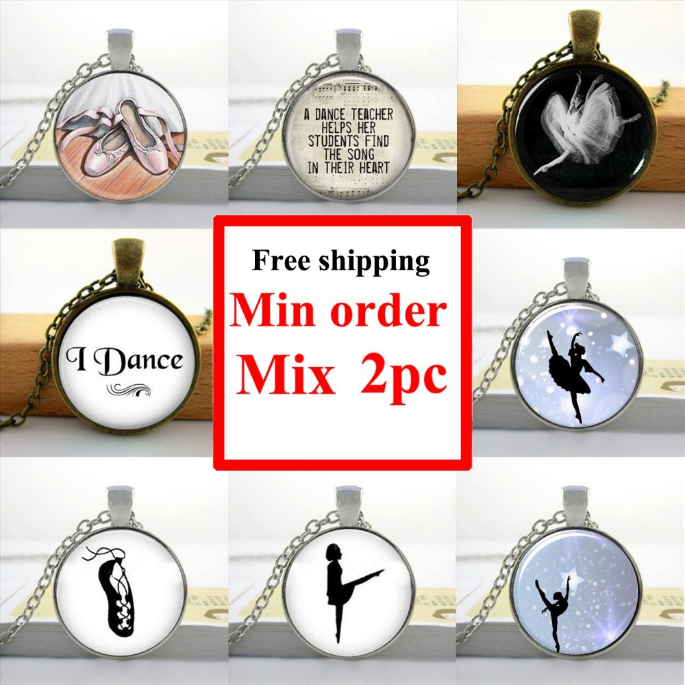 Hzshinling wholesale art glass pendant dancing ballerina pendant hzshinling wholesale art glass pendant dancing ballerina pendant ballerina glass dome pendant girls glass cabochon necklace hz1 in chain necklaces from aloadofball Gallery