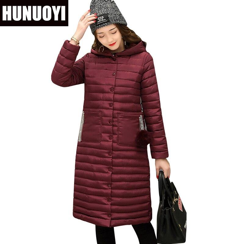 Free shipping 2017 New Ladies Long Winter Warm Coat Women Ultra Light Down jacket Jacket Women's Hooded Jackets HN200