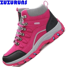 new high low top women shoes breathable casual trekking trainers flat zapatillas mujer warm snow ankle boots q298