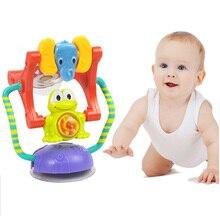 Купить с кэшбэком Kawail Building Blocks Ferris Wheel Rattles Sound Animal Frog Baby Toys 0-12 months Baby Development Toys for Kids