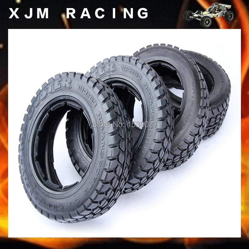 все цены на 5T Highway-road Tire Set For 1/5 HPI Baja Parts онлайн