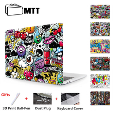 """MTT 2018 Graffiti Case For Macbook Air Pro Retina 11 12 13 15 inch With Touch Bar Laptop Bag Sleeve For macbook Air 13"""" Cover"""