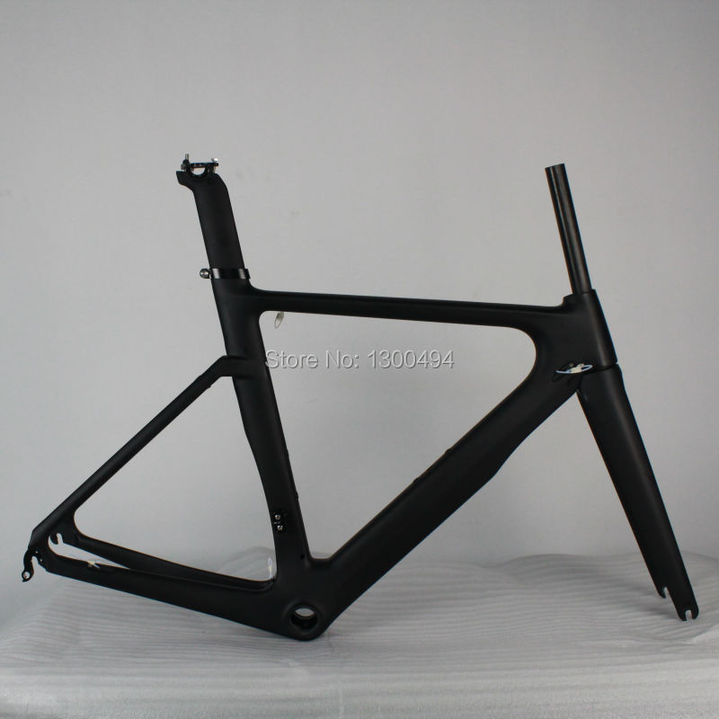 Carbon Road Frame Di2 system   Frameset+Fork+Seat Post+Clamp+Headset KQ-RB202A Factory Outlets цена и фото
