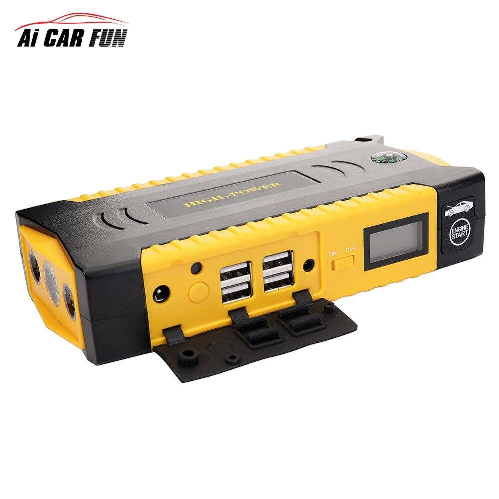18000 mah Voiture Saut banque de puissance du Démarreur 12 V Auto Booster Multifonctionnel D'urgence D'allumage Pour véhicules Batterie LED
