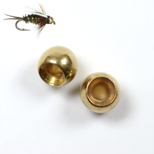 50pcs Fly Tying Brass Beads Nymph Bead Head Fly Tying Bead 2.3mm 2.8mm 3.4mm 3.8mm China Fly Fishing Material Wholesale