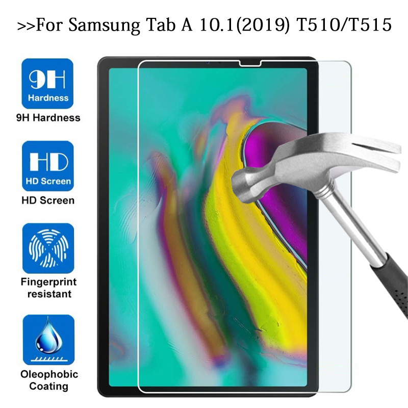 T510 T515 SM-T510 SM-T515 Tempered Glass Screen Protector Film On The For Samsung Galaxy Tab A 10.1 2019 Tablet Protective Glas