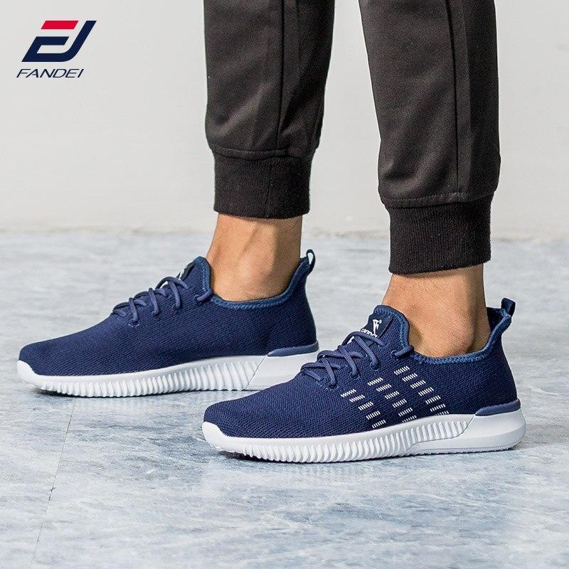 FANDEI LAUFSCHUHE FÜR MÄNNER yeezys luft neue design atmungsaktive mesh sport schuhe männer licht turnschuhe männer chaussure sport homme