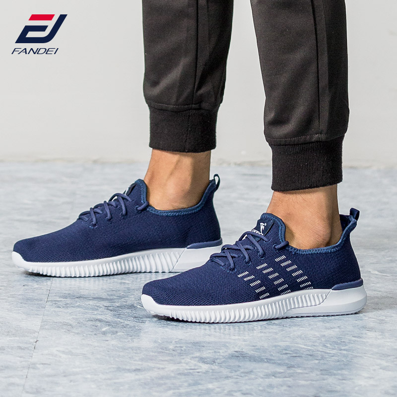 FANDEI RUNNING SHOES FOR MEN yeezys air new design breathable mesh sport shoes men light sneakers men chaussure sport homme do dower men running shoes lace up sports shoes lovers yeezys air outdoor breathable 350 boost sport sneakers women hot sale
