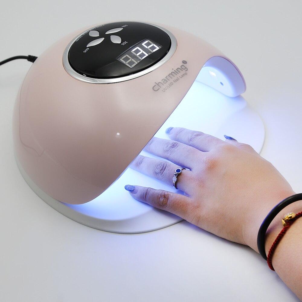 60 W UV LED lampe à ongles pour vernis à ongles Gel lampe à LED lampe sèche ongles Gel Machine à ongles pour manucure bricolage outils d'art des ongles