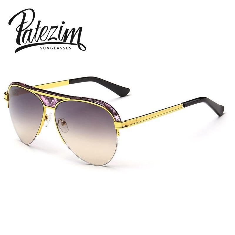 ee5c56787d 2017 nueva moda mujer metal Marcos aviador Gafas de sol marca diseñador de  conducción Gafas gafas Rana sombras UV400