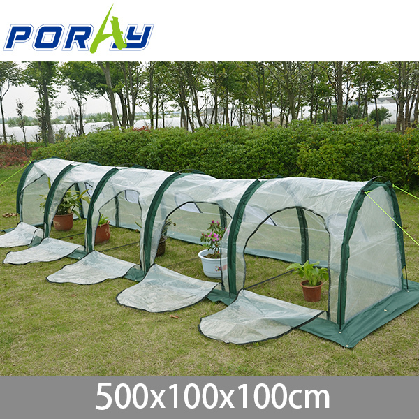 NEW pop up mini poly tunnel greenhousetunnel Conservatory of flowers foldable PE shed/garden-in Agricultural Greenhouses from Home u0026 Garden on ... & NEW pop up mini poly tunnel greenhousetunnel Conservatory of ...