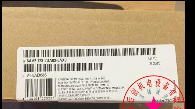 In stock 100%New and original  1 years warranty    6AV2123-2GA03-0AX0   KTP700
