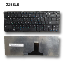 GZEELE NEW  Laptop keyboard FOR ASUS P43E P43S N43E N43EI U30 U30JC K43E K43SA U80 U81 UL80 U80V U80E U82 U82U RU BLACK KEYBOARD