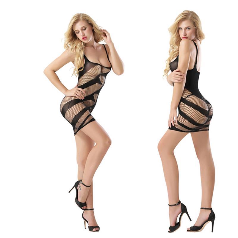 Á—lingerie Chaude Sm Porno Dos Nu Fronde Dentelle Robe Rotique String Babydoll Chemise Costumes Sous Tements Femmes W537