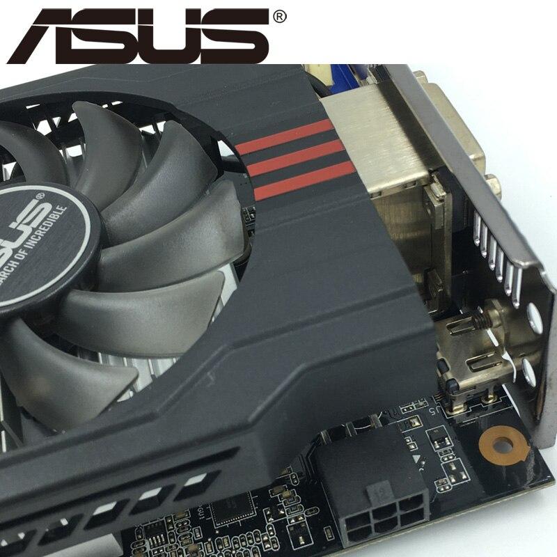 Видеокарта ASUS, GTX 750 Ti 2 Гб 128 бит GDDR5, графические карты для nVIDIA Geforce GTX 750Ti, б/у, VGA карты GTX750TI 1050, оригинал-4