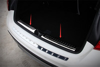 인테리어 리어 범퍼 테일 게이트 트렁크 가드 씰 플레이트 스커프 트림 커버 메르세데스 벤츠 gla x156 gla180 gla200 gla250 gla45