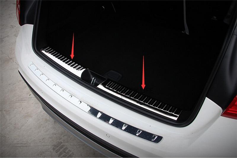 Interior Rear Bumper Tailgate Trunk Guard Sill Plate Scuff