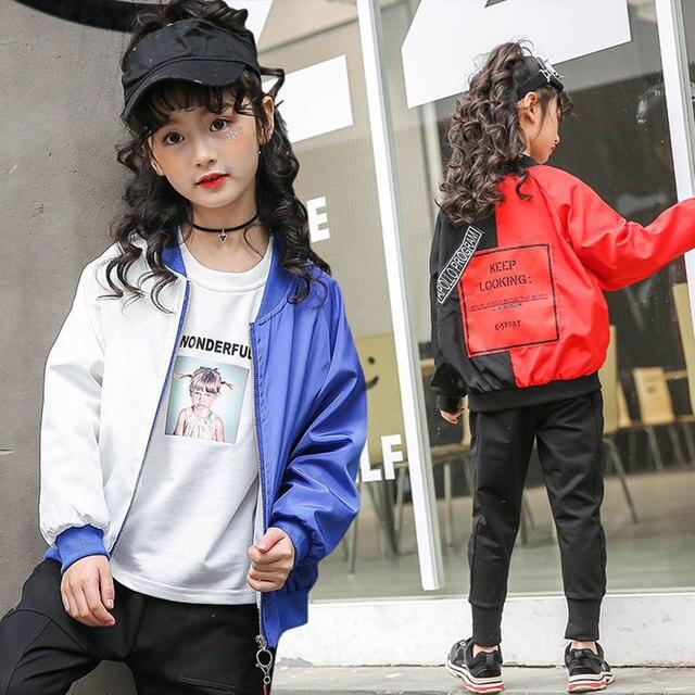 Модная верхняя одежда для малышей весенняя куртка Обувь для девочек Обувь для мальчиков Повседневное Водонепроницаемый Куртки Пальто для будущих мам детская верхняя одежда красный, белый Цвета с буквами