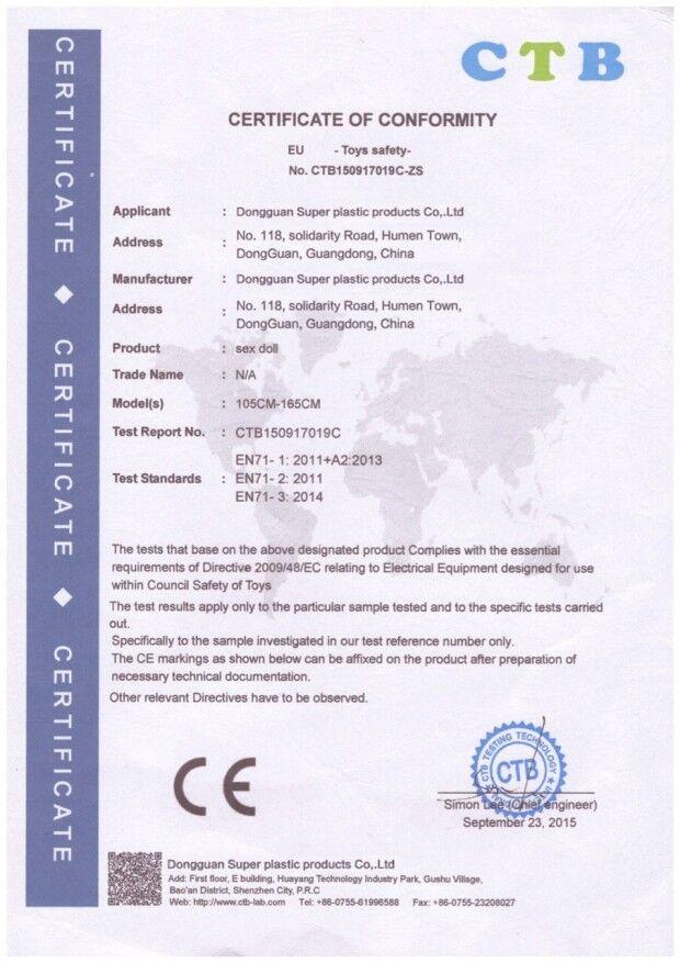 CE Zertikifat