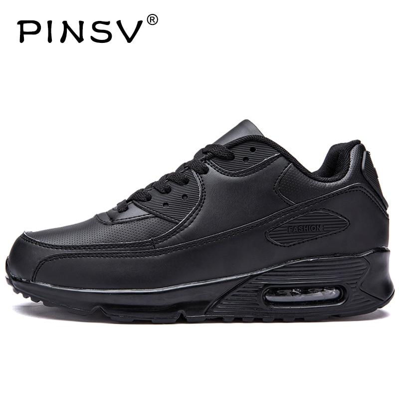 PINSV Winter Running Shoes Sneaker Men Sport Shoes Woman Krasovki Men Winter Basket Femme Zapatillas Deporte Mujer Turnschuhe