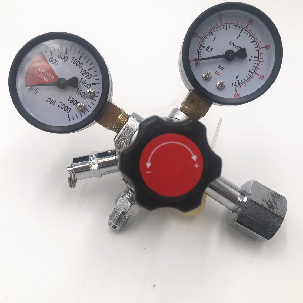 New Economical CO2 Regulator With 1/4