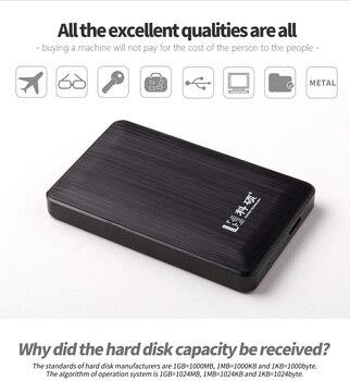 Кесу USB 3,0 80 ГБ 120 ГБ 160 GBPortable внешний жесткий диск HDD External HD Жесткий диск для ПК/Mac