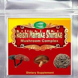 Top3 Blend Mushroom (Maitake+Reishi+Shiitake) 50% Polysaccharide Powder 500gram Free shipping