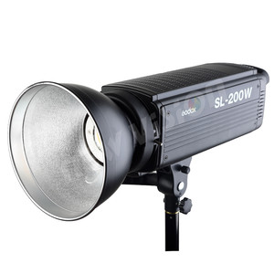 Image 5 - Godox SL 200W 200Ws 5600 K LED ต่อเนื่อง Photo Video Light w/Remote ฟรี DHL