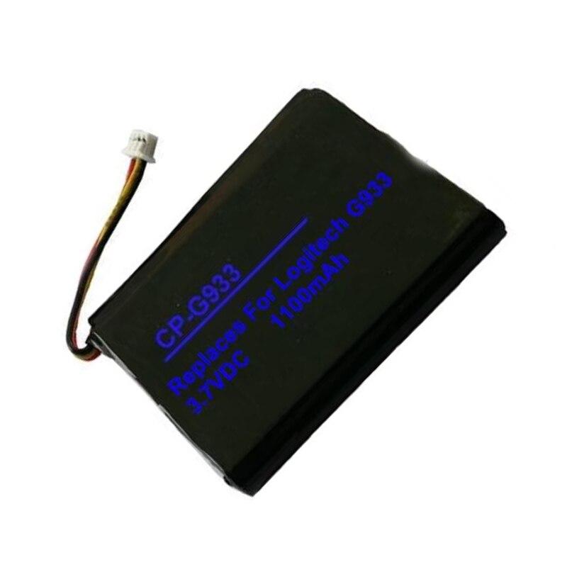 Batería De 1100 Mah G933 Para Baterías De Logitech G533, G933 533-000132 Excelente Calidad