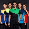 Quick Dry Men Polo Shirt Short Sleeve Slim Male Polo Shirt Casual Fitness Breathable Fit Color