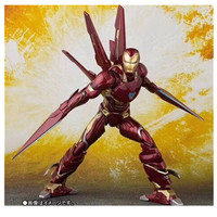 Marvel Avengers SHFiguarts IRON MAN MK50 NANO WEAPON SET Infinity War Action Figures Model Toys