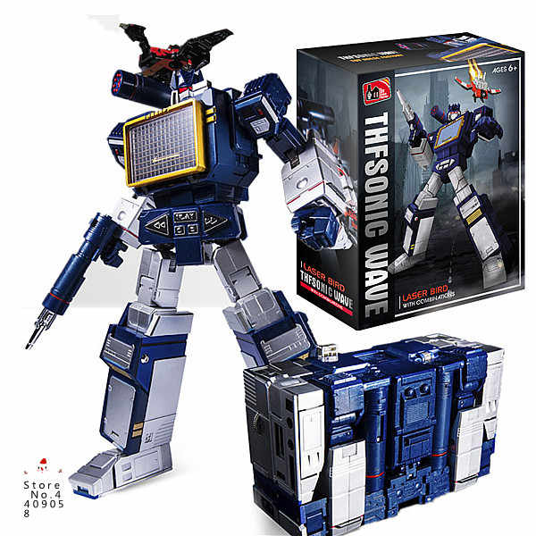 В наличии KBB Skywarp Soundwave лента трансформация KBB MP11 starcram Megatron Dirge Optimus Bumblebee модель фигурки