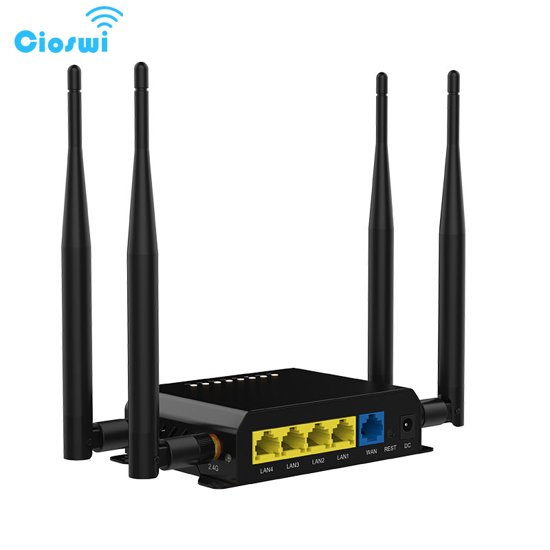 wi fi router with sim card 4g for car bus 4 5dbi external antennas 300mbps satellite