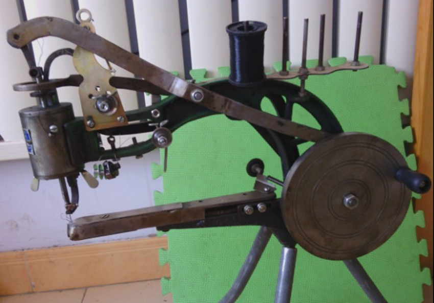 Shoe Repair Sewing MachineShoe Mending Machine With Tripod For Cobblers And Shoemaker RH In