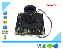 Luckertech CCTV IP Camera module Board XM510+H62 H65 720P 960P ONVIF H264 Mobile Serveillance CMS XMEYE Lens Focused IRC ONVIF