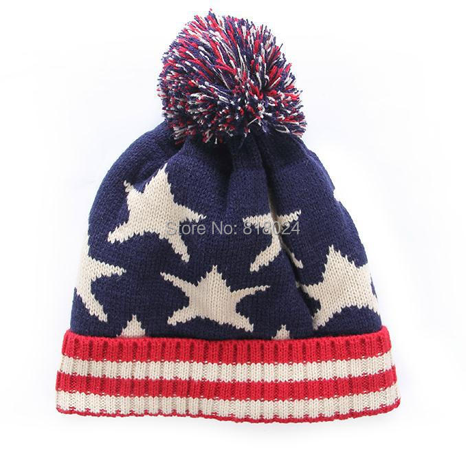 Cheap usa american flag Beanie hat wool winter warm knitted caps and hats  for man and women Skullies cool Beanies wholesale-in Skullies   Beanies  from ... 48657771567