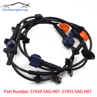 Gzhengtong 2pc Lot Front Left Right ABS Wheel Speed Sensor For HONDA FIT JAZZ CITY 1