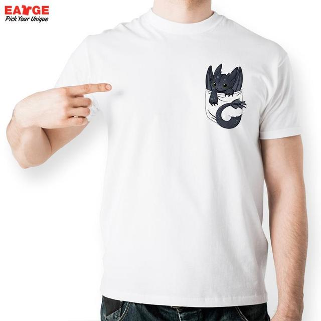 Your Dragon Night Fury Inside Pocket T Shirt Design T Shirt Cool