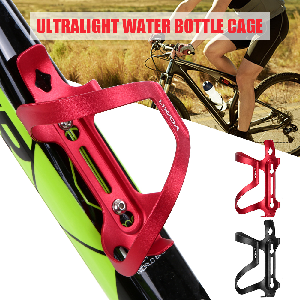 US STOCK Bicycle Carbon Water Bottle Cage Mountain Bike Cycling Bottle Holder