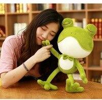 about 50cm cute cartoon frog plush toy soft doll birthday gift w2219