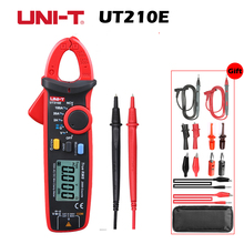UT210E Clamp Meters True RMS Auto Range AC/DC Current Voltage VFC Capacitance Non Contact Digital Multimeter Diode
