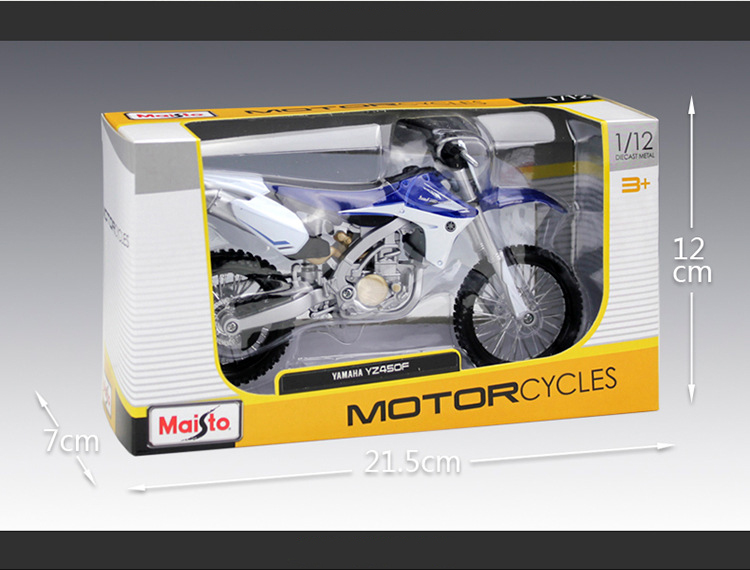 Yamaha YZ450F Model Motorcycle 6