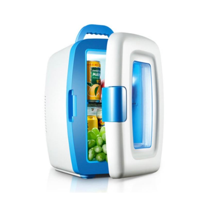Olyair 10L transparent door car refrigerator mini car fridge portable fridge  pink blue DC 12V AC 220-240V brief spaghetti strap open back tank top for women