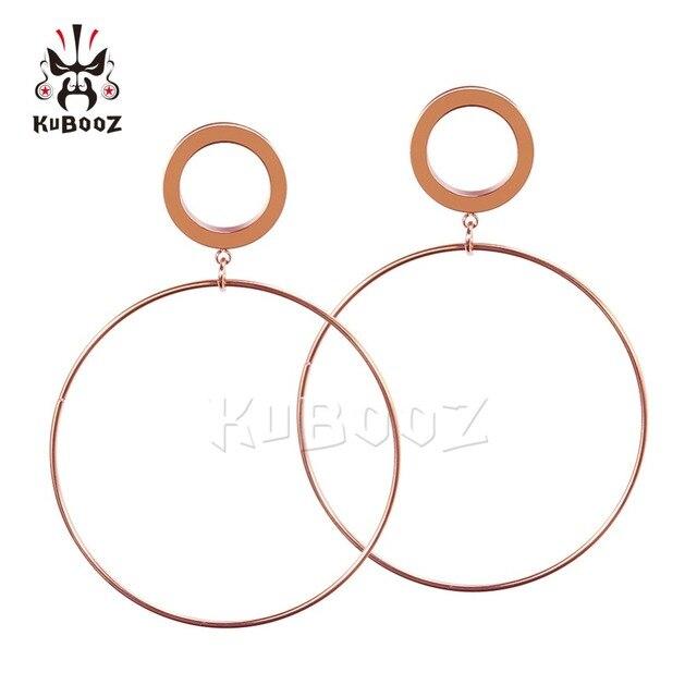 Фото заглушки для ушей kubooz ювелирные изделия пирсинга тела туннели цена