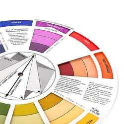 Цвет колесо для любителей Профессиональный микс Microblanding татуировки перманентный макияж аксессуары MSI-19