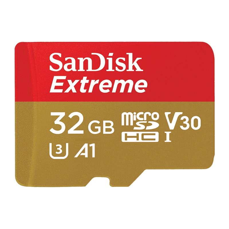 SanDisk Memory Card Extreme micro SD Card UHS I C10 U3 V30 A2 microSDHC microSDXC Flash