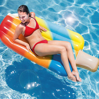 Summer adult swim ring swimming pool floating in summer cool my popsicle ice cream floating