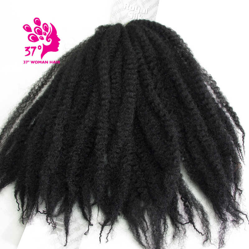 Dream ice's Braiding Hair Extensions Kinky Twist Hair Synthetic Crochet  Hair Afro Twist Braid Hair 100g 3 pieces per lot