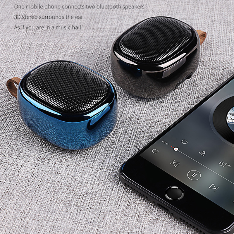 Wireless Bluetooth Speaker Mini Portable Speaker Subwoofer Loudspeaker Waterproof Outdoor Stereo Music Surround Player V6 in Portable Speakers from Consumer Electronics