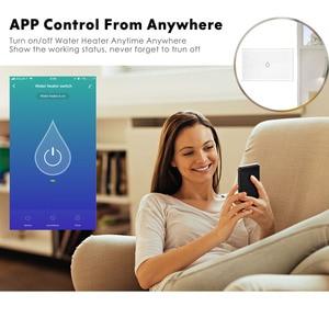Image 2 - الذكية واي فاي المرجل التبديل ، 16A 3000 واط عالية الطاقة/APP التحكم عن بعد/العمل مع أليكسا جوجل المنزل الذكية سخان مياه التبديل